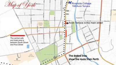 Mapof central York