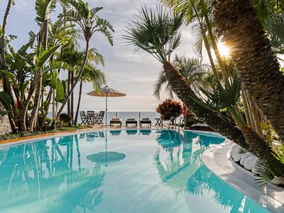 Photo for Secluded Villa In Tropical Garden Paradise, Heated Pool & A/C   Villa Do Mar I