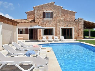 Photo for 5 bedroom Villa, sleeps 10 in Calonge with Air Con and WiFi