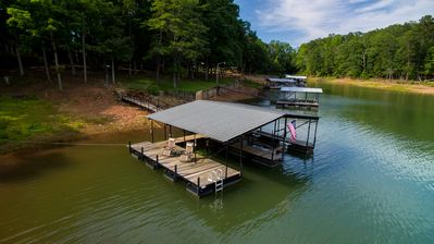 Photo for Waterfront Property With Dock Perfect for Weekend Getaway; Convenient to Clemson
