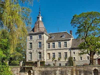 Photo for Enjoy the peace and nature in a historic castle in the Ourthe valley