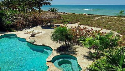 Photo for A truly special, 5 Bedroom, 5 Bath Beach Front, get-away-from-it-all pool home