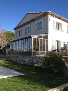 Photo for HOUSE WITH POOL AND VIEWS OF THE LUBERON