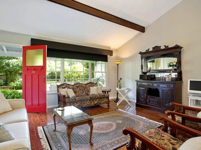 Photo for Typical mountain cottage in a beautiful garden within the Blue Mountains Nationa