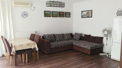 Photo for Modern style apartment in Siófok at Beach Club, free WIFI, beach is 120m