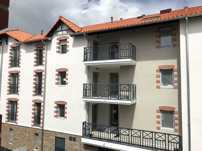 Photo for APARTMENT T2 STANDING CENTER BOURG AND CLOSE BEACH