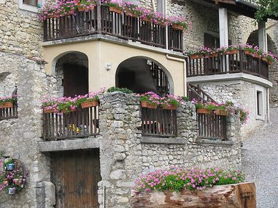 Photo for 3 bedroom Apartment, sleeps 8 in Le Moulin with Pool