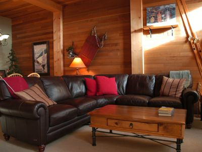 Photo for Big White-Luxury Slopeside Condominium - Best ski out/in on the mountain.