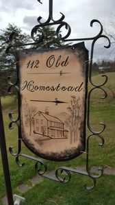 Photo for The Old Homestead  -  Charming Circa 1800 Farmhouse Looks Toward Sleepy Creek Mt