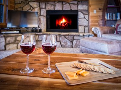 Photo for Amazing, Luxury Cabin just minutes from Downtown Blue Ridge, sleeps 10