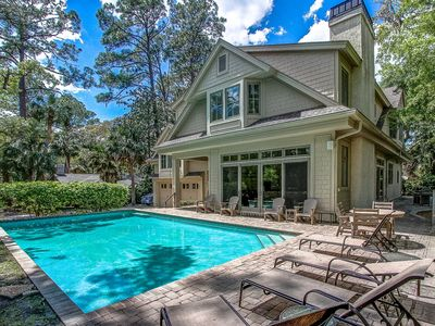 Photo for 15 Green Heron - Spectacular! Large Private pool and steps to the beach.