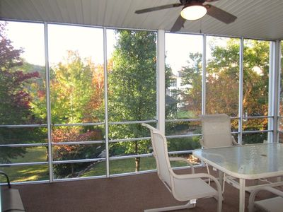 Photo for 2 Recliners- 2 Screen Porches- View- Indoor/Outdoor Pool-  Fireplace- Golf