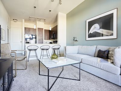 Photo for Sonder | Haven at Main | Lovely 1BR + Balcony