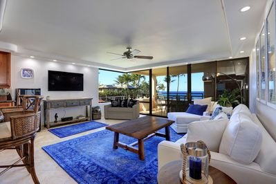 Entertainment Room with beautiful view of the ocean