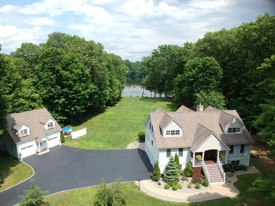 Photo for Fabulous Waterfront Property One Mile to Downtown and Track