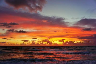 Wake up to a beautiful Florida sunrise experience. Photo by guest