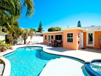 Photo for Dog-friendly seaside home w/ private pool & spa - great location near beach