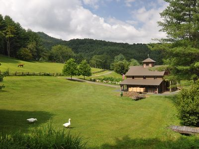 Photo for Farm Animals! Quaint Mountain Cabin! 74 Acres of Private Hiking!