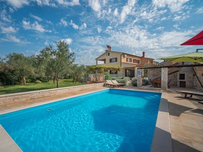Photo for This 4-bedroom villa for up to 9 guests is located in Vodnjan and has a private swimming pool, air-c