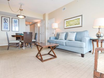 Photo for OPEN CONCEPT, PRIVATE BALCONY condo! NEARBY BEACHES and community POOLS! 🌊