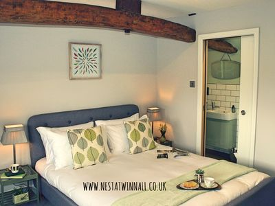 Photo for NEST AT WINNALL Luxury 19thC Cottage, Peaceful Location, Walking, Child Friendly