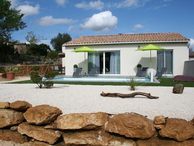 Photo for Air-conditioned mapokia villa with private heated pool near Uzès.