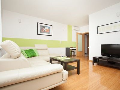 Photo for Apartment Kuvi with balcony and garden view