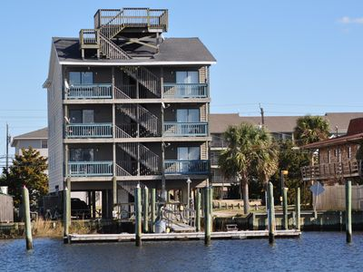 Photo for Waterfront Condo/Pier/1 Block From Beach and Boardwalk. 2 BR, 2BA