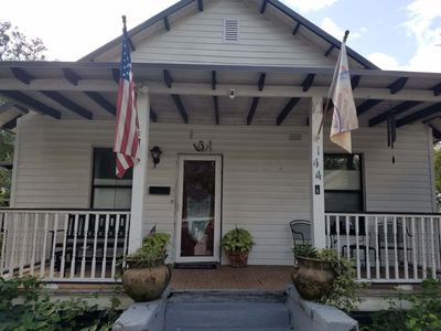 Photo for Historic Lincolnville cottage, just a short walk to downtown!