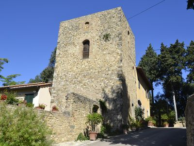 """Photo for """"OLD GIROLAMI TOWER"""" Near FLORENCE and in the heart of Chianti"""