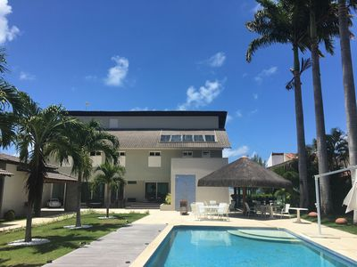 Photo for Modern luxury home in seaside Tamandaré, 7 suites, large swimming pool