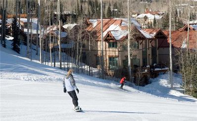 Photo for Pine Meadows 138 - AMAZING Ski-In/Ski-Out Access! Private Hot Tub and Slopeside Location