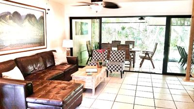 Our bungalow is fresh and inviting