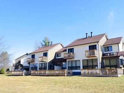 Photo for Ski Harbor #37- Lakefront Townhome in Great Community near Wisp Resort
