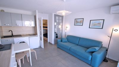 Photo for Studio 2/4 people - Air conditioning - WiFi - City center - Sainte-Maxime