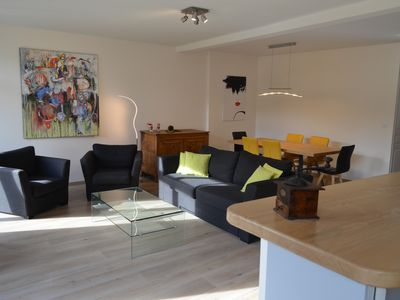 Photo for Beautiful apartment 100 m² / 4 * / downtown / ideal cure