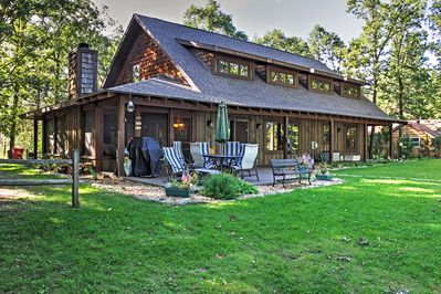 Welcome to your beautiful, lakefront vacation rental cabin!