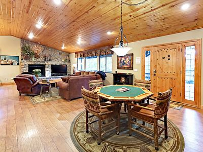 Photo for Luxury 3BR Getaway w/ Game Room & Hot Tub
