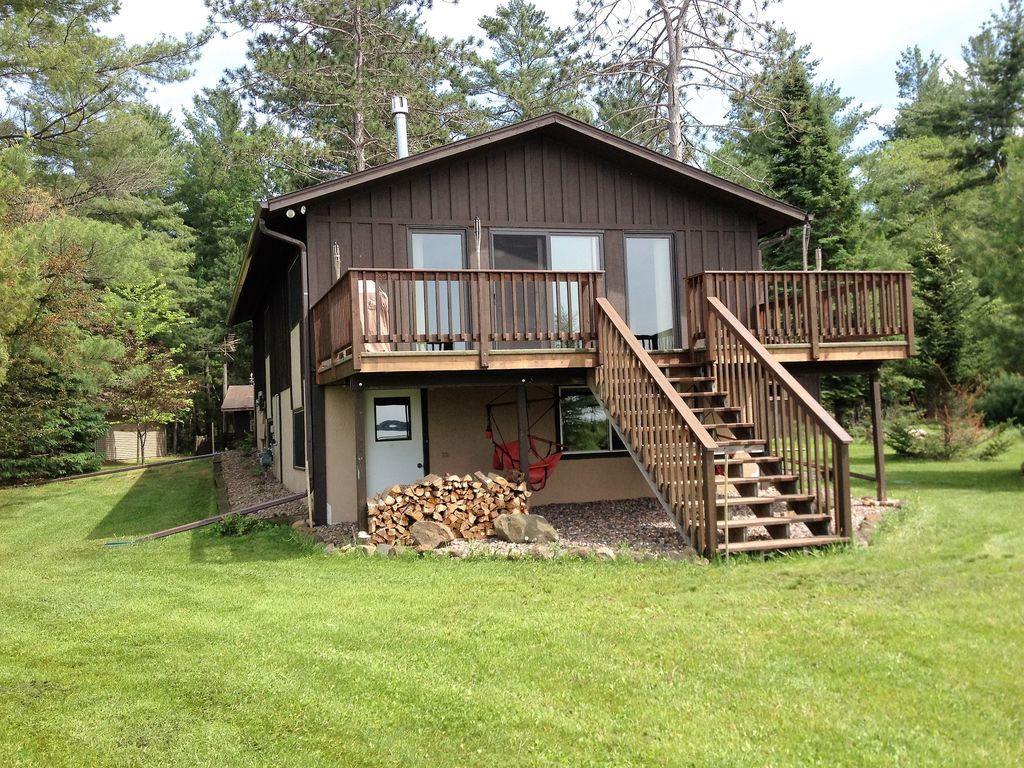 vacation upper a on watch wisconsin murmurwood clam rental in lake log authentic cabin rent cabins
