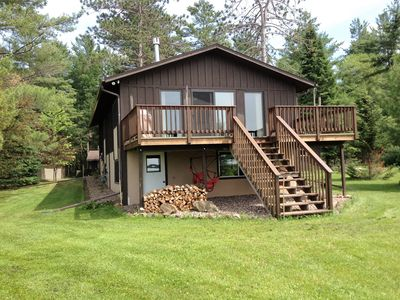 Photo for Cabin for rent on clear 2500-acre Shell Lake in Shell Lake, Wisconsin.