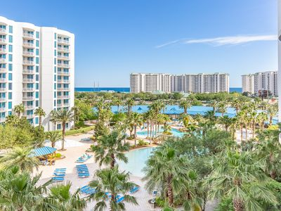 Photo for Huge Pool! Updated-Gulf Views☀Inspected & Disinfected☀ Palms Resort 2603 Jr 2BR