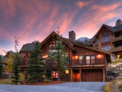 Photo for Spacious Ski In/Out Moonlight Basin Mountain Home w/ Lodge,Lake & Golf Access