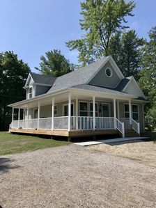 Photo for New cottage with Lake Huron views and private community beaches.