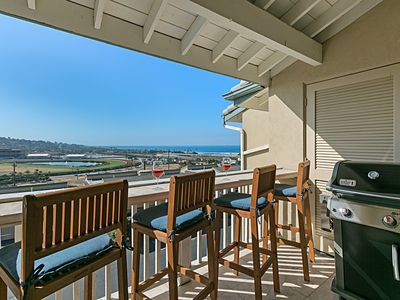 Photo for The Turf View Trifecta is an elegant condo overlooking the famous Del Mar Race Track!