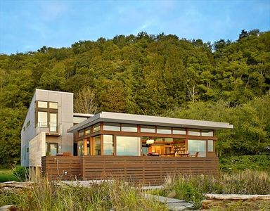 Photo for LUXURY OCEAN FRONT HOME ON PRIVATE ISLAND (PUGET SOUND)