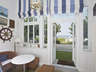 """Photo for SE Whg 1 * * * * - Villa """"Strandeck"""" directly on the beach, with Baltic Sea view, TOP LOCATION"""