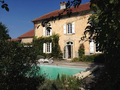 Photo for Large house with Pool in a small village in rural Gascony