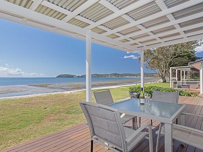 Photo for 'Beached Inn' 93 Foreshore Drive - Spacious beach front house
