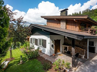 Photo for Holiday house, shower, toilet, 3 bedrooms - Chalet am Weißachgraben