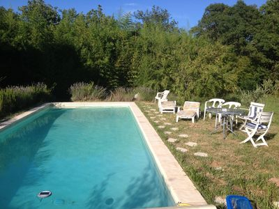 Photo for Nice house with pool access